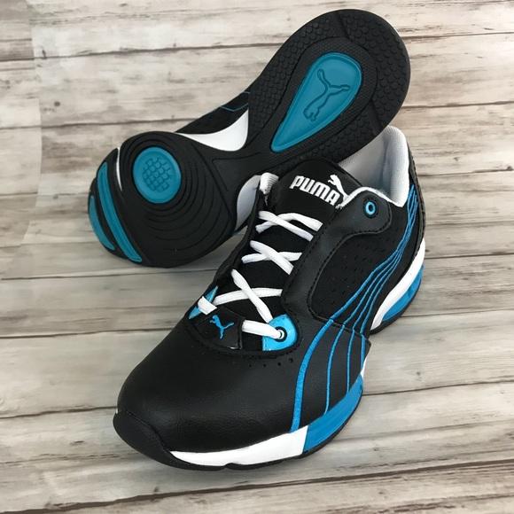 ⬇️Puma Ezella Lite Women Shoes Black-Blue Size 8.5 6c39b016f